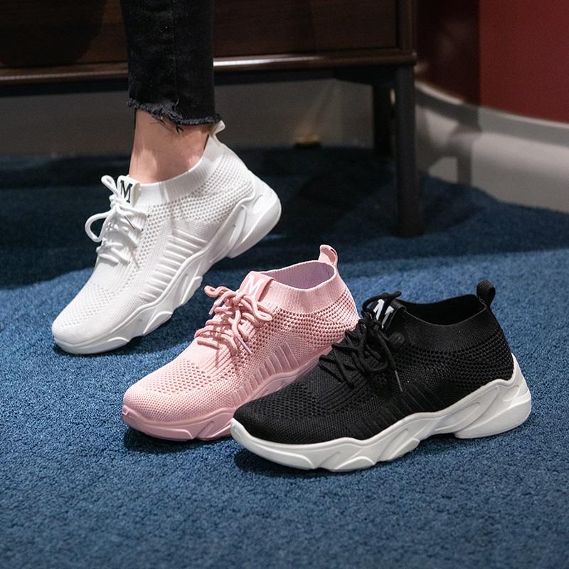 明星同款】2020新款运动鞋女跑步老爹闰月妈妈百搭网红ins潮鞋子图片