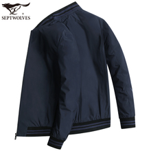 Seven Wolf Jackets Men's New Baseball Suit for Spring and Autumn 2019 Men's Jacket Middle-aged Dad's Leisure Top 1808