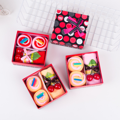 Wedding return gift Tanabata Festival small gift Cake Towel Gift Box bride hand gift company activities to send employees