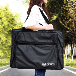 Art clouds防水水彩画袋防潮美术绘画袋轻便8K水彩画袋4K/2K作品收纳大容量画袋防水收纳画板画架旅行袋