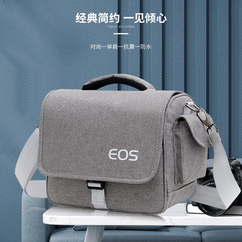 佳能相机包单反数码包便携单肩男女摄影包800D 80D 200D 90DM50M6