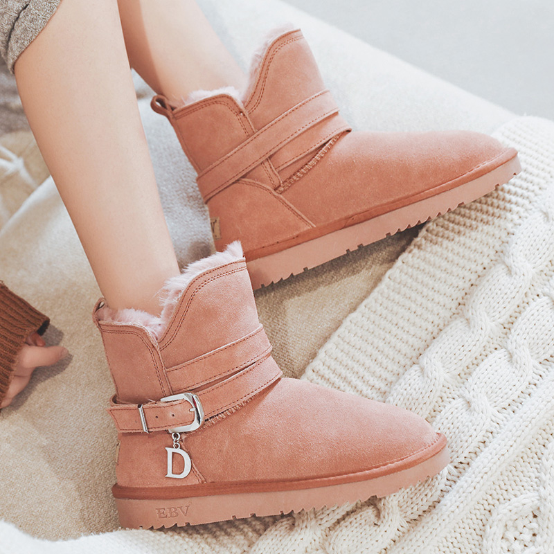 EBV new fashion snow boots in the winter of 2019