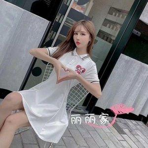 夏季專柜T恤POLO衫連衣裙時尚休閑流行款式潮流舒適裝街頭寬松