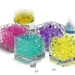 水晶泥海洋宝宝水晶土吸水珠无土养花水晶海绵宝宝水培装饰3000粒