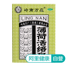 Lingnan Wanying Mint Huoluo Ointment 18g*1 Bottle/Box Antiphlogistic Analgesic Ointment for Rheumatism, Bone Pain, Headache and Carsickness