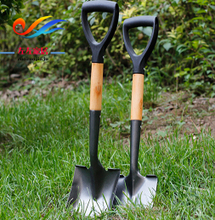 Flower Shovel Gardening Tools Three-piece Suite Shovel Loosen Soil Shovel Household Digging and Flower Planting Small Iron Shovel