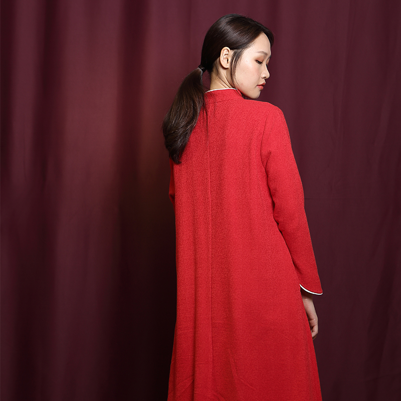 A new Chinese classic Tencel dress