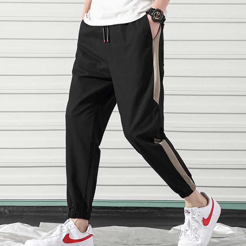 满5元可用2元优惠券男士夏季2019新款潮男装夏裤休闲裤