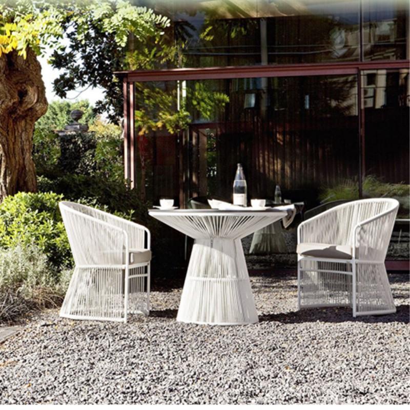 藤椅三五件套休闲户外家具创意藤编阳台组合庭院别墅酒店露台桌椅