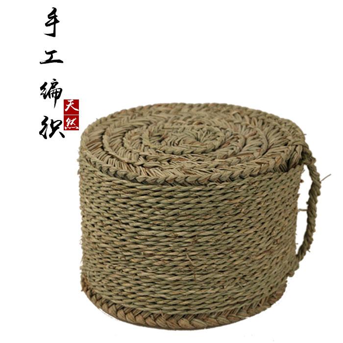 Юньнань Вэньшань травяной пирс табурет ручная работа ковыль вязанные Сидя на подушке футона воздухопроницаемый дома домашние С 30 * 30 см