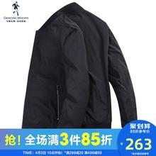 与狼共舞夹克男2020春秋新款韩版休闲帅气教练棒球服潮流男士外套
