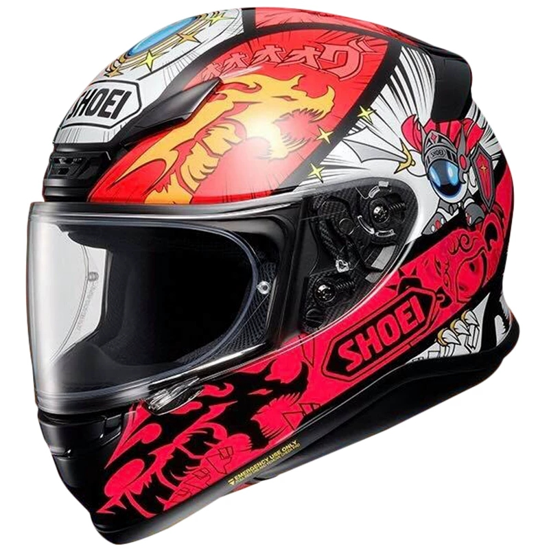 Shoei z7 brave fighter power comes from spaceship