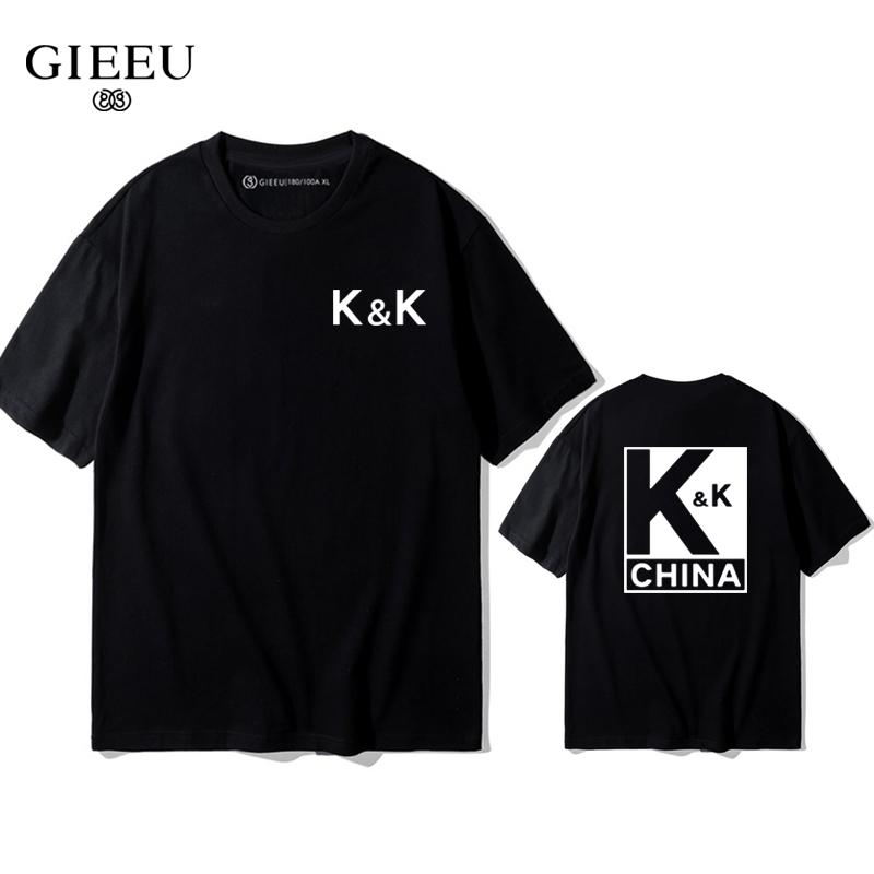 李现韩商言同款k&k战队服kk男t恤10-11新券