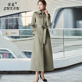 外套2020年新款女春秋装流行韩版英伦风高端大气精品风衣女中长款