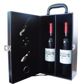 【扫码价668】双支红酒礼盒 干红葡萄酒2支装正品送礼佳选图片