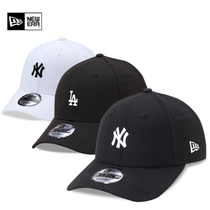 Newera Tide MLB Mens and womens dazzling hip-hop little NY Embroidery bend eaves Adjustable cap Hip-hop baseball cap