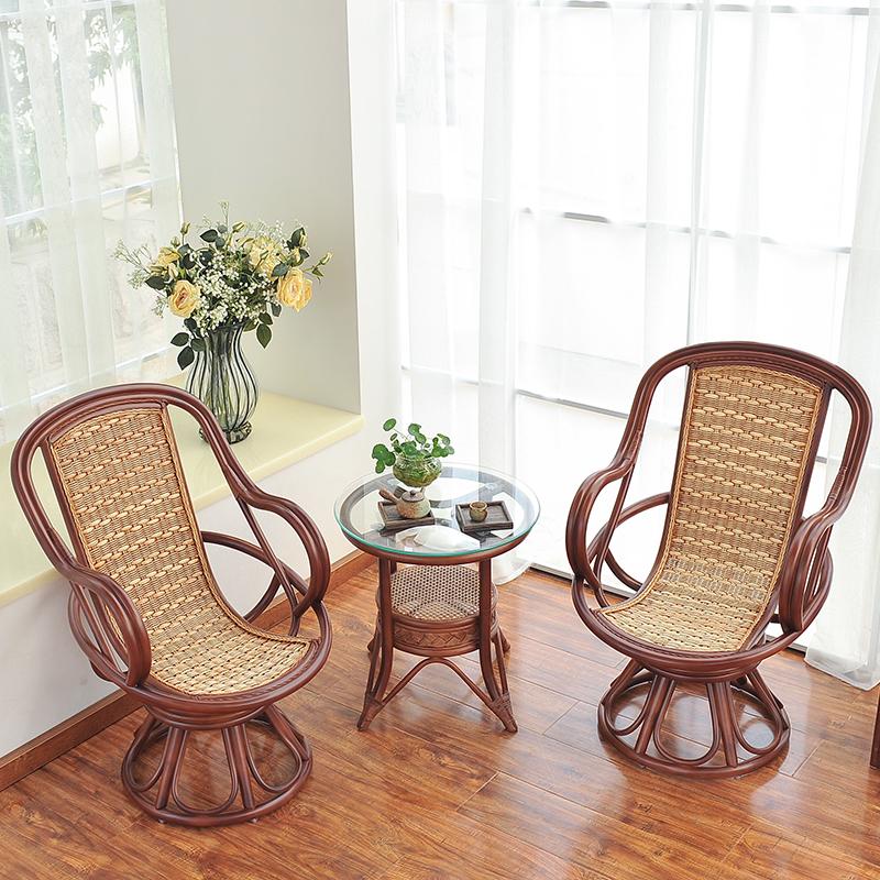 Континентальный плетеный стул три образца балкон случайный с.