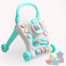 Multi-function anti-rollover infant walker toys for boys and girls aged 6-12 months