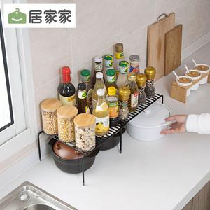 领3元券购买居家家伸缩调味品水槽厨房收纳架