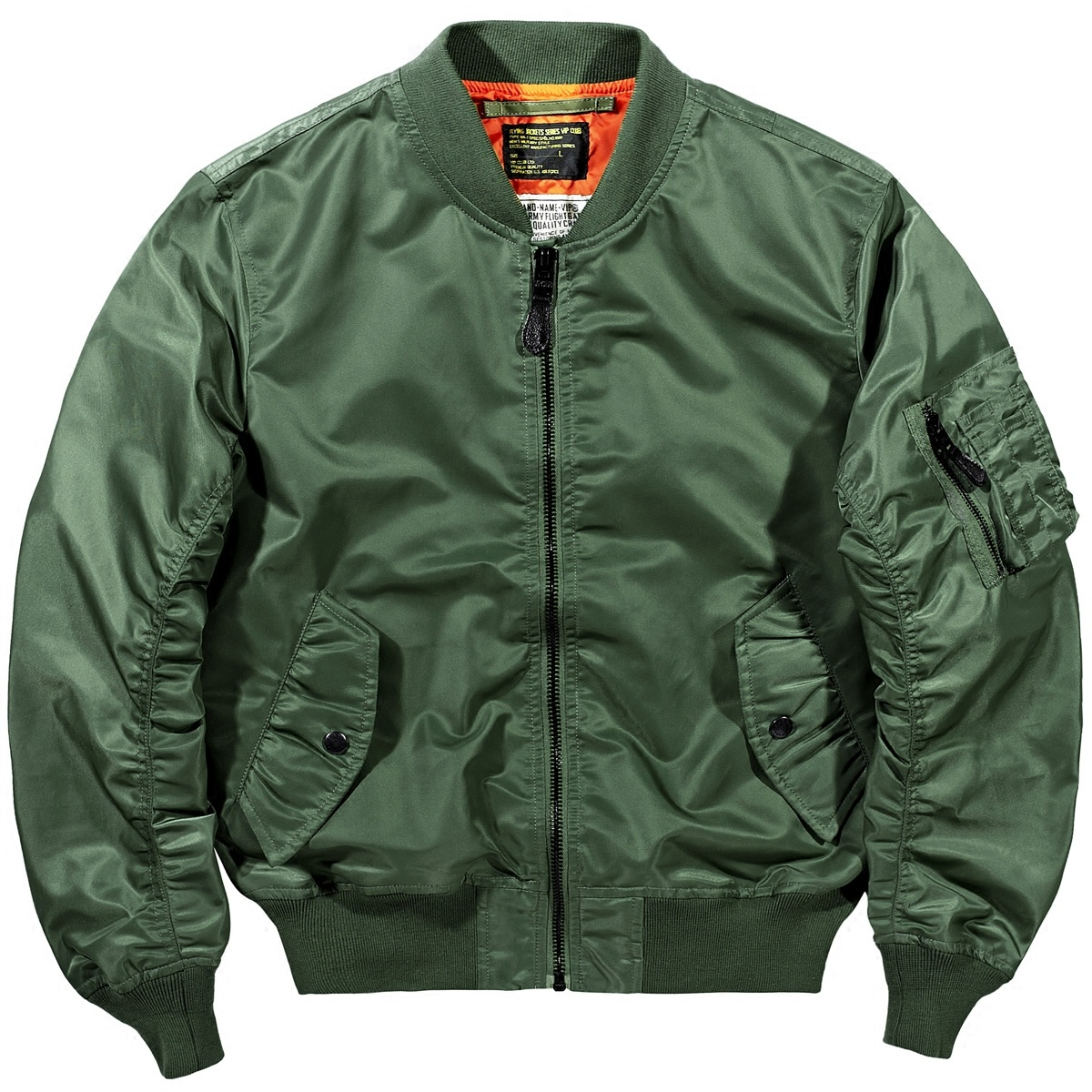 VIP spring new air force MA1 pilot jacket men's Korean baseball suit large men's military coat trend