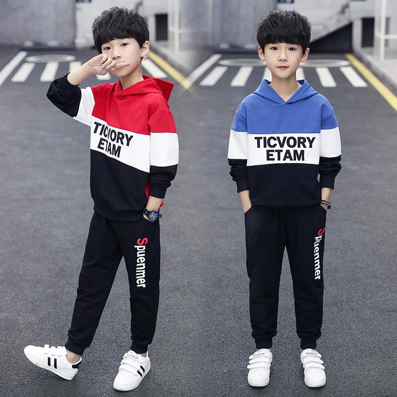 网红男童装秋装洋气套装时髦儿童春秋2020新款秋款韩版帅气潮男孩