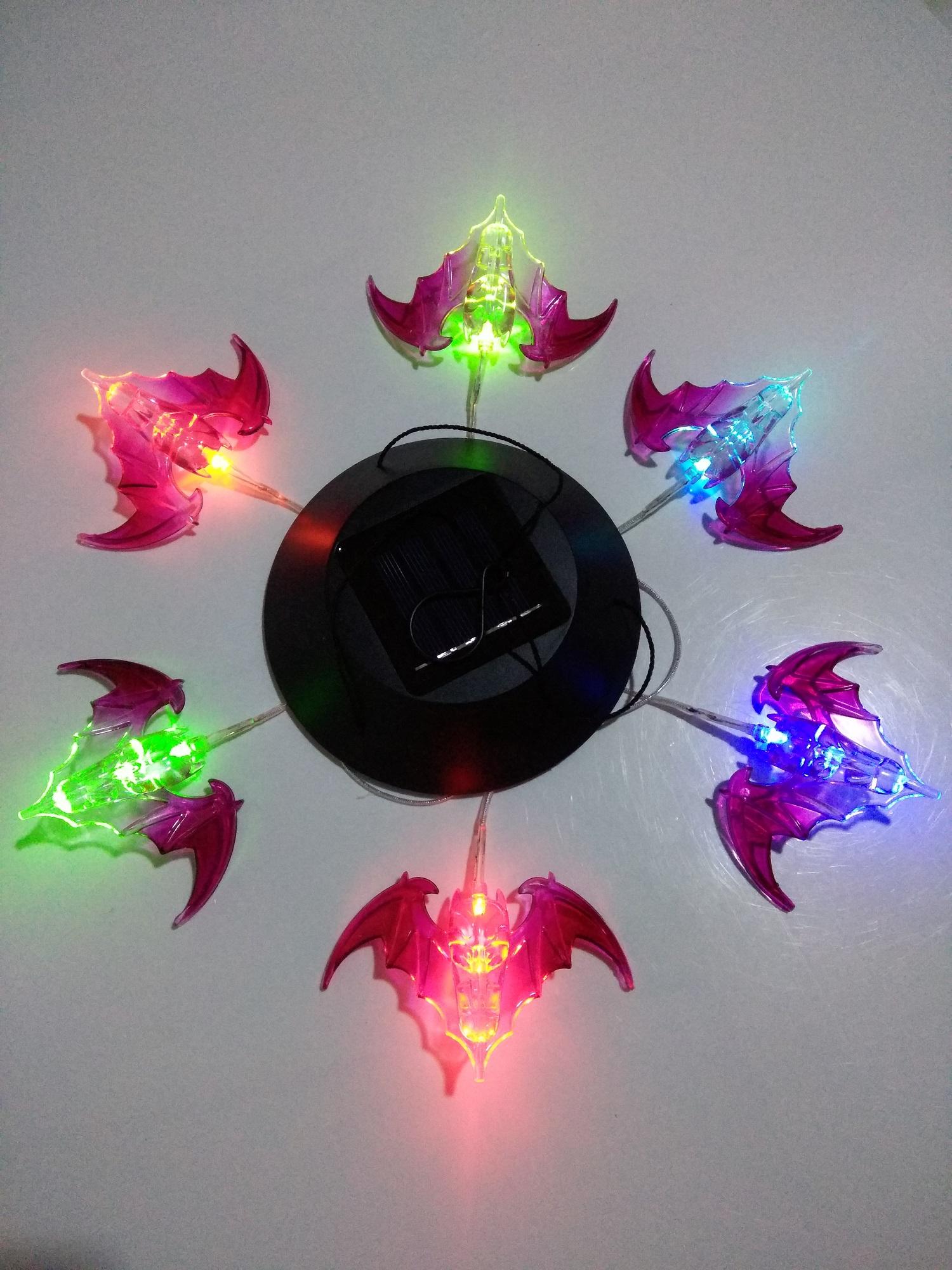 Солнечной энергии свет колокольчик свет обесцвечивать летучая мышь led свет солнечной энергии на открытом воздухе свет суд больница свет
