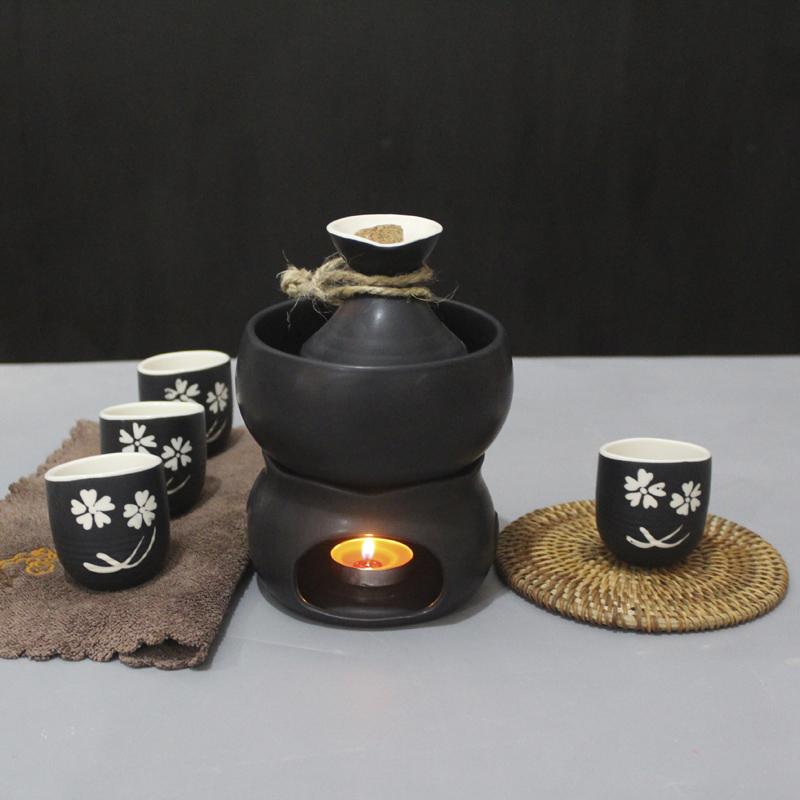 Ceramic wine heater, wine pot, wine making candle holder, heating wine heater, wine dispenser, yellow wine, Baijiu cup, wine set.