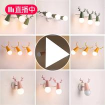 新中式壁灯现代中式简约禅意客厅电视背景墙装饰灯卧室床头长灯具