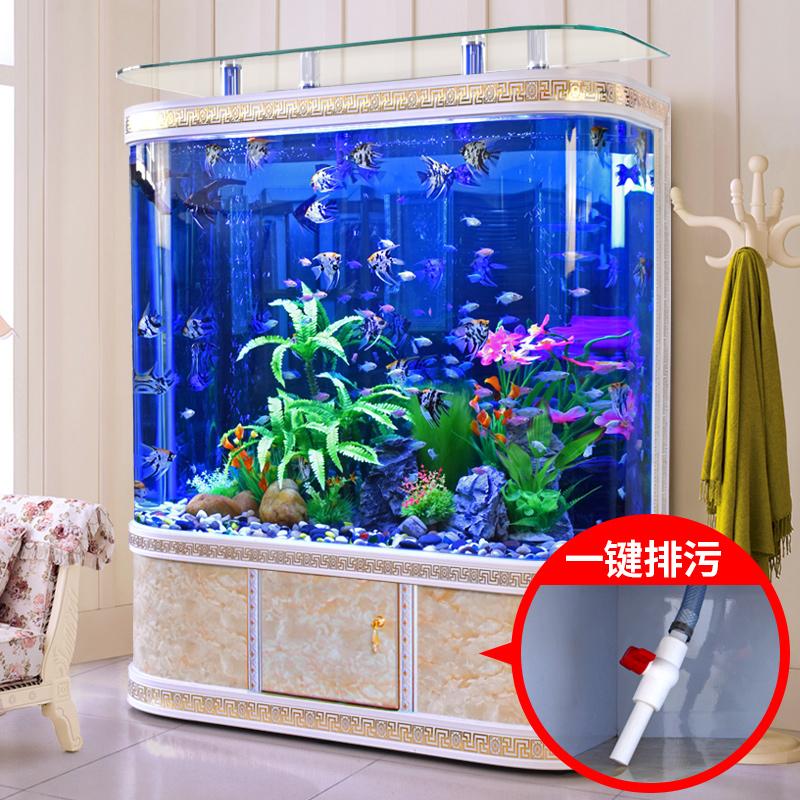 胜居客厅落地生态玻璃大小型水族箱满3560.00元可用1780元优惠券
