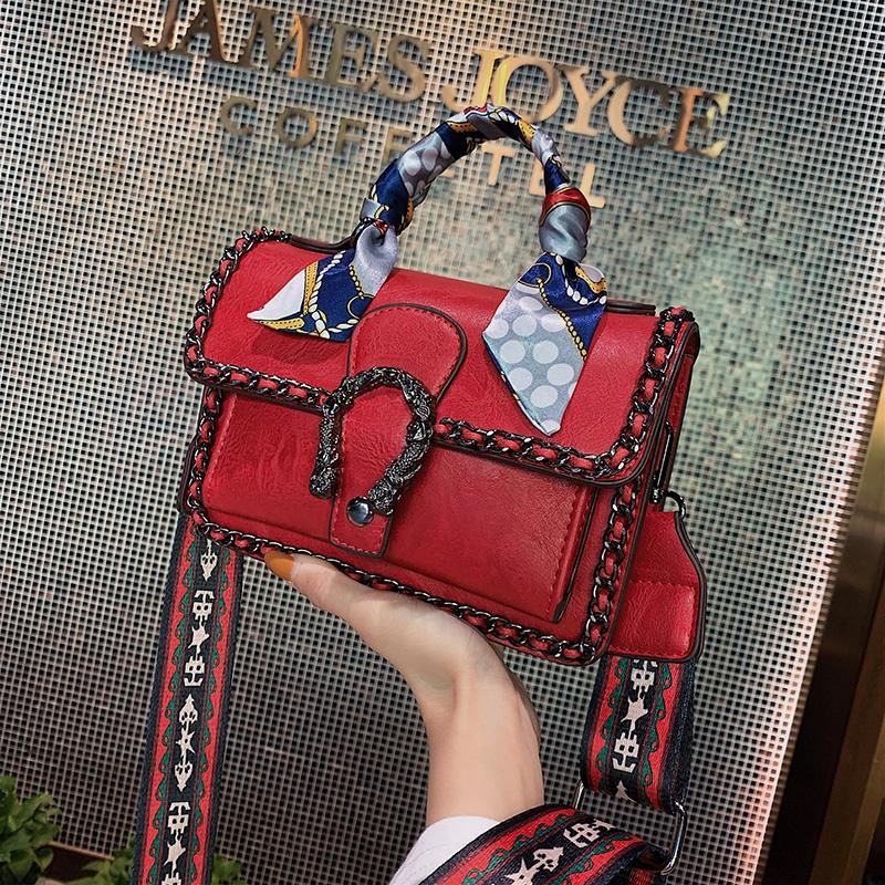 时尚高级感手提小包包女包2020新款潮网红斜跨洋气百搭单肩斜挎包