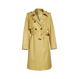 商场同款2020 装新款系带双排扣西装领风衣女272711BC1006图片