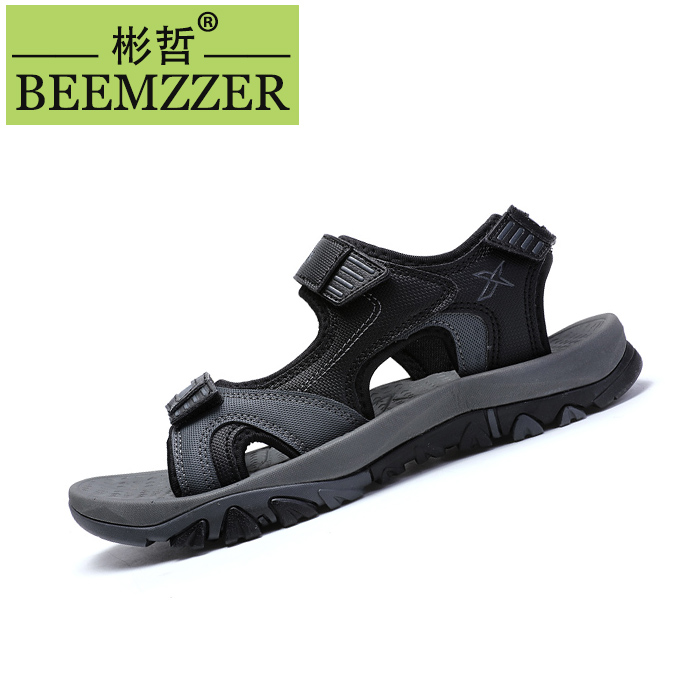 Sandals men 2020 summer new men's Vietnamese sandals middle school students beach shoes teenagers outdoor casual shoes