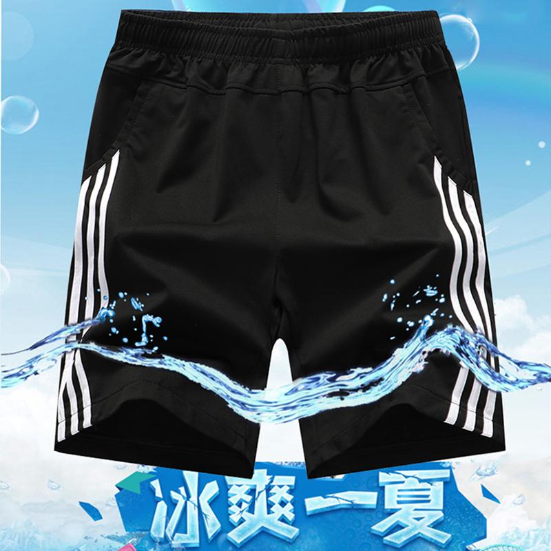 运动短裤男士休闲女健身速干跑步篮球裤夏季训练宽松五分裤沙滩裤