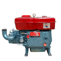 Changzhou 24 horsepower diesel engine CR25 water-cooled single-cylinder diesel engine tricycle transport Minecart diesel engine