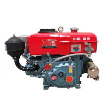 Changzhou 8-horsepower diesel engine water-cooled single-cylinder diesel engine R180 horizontal water cooling engine power