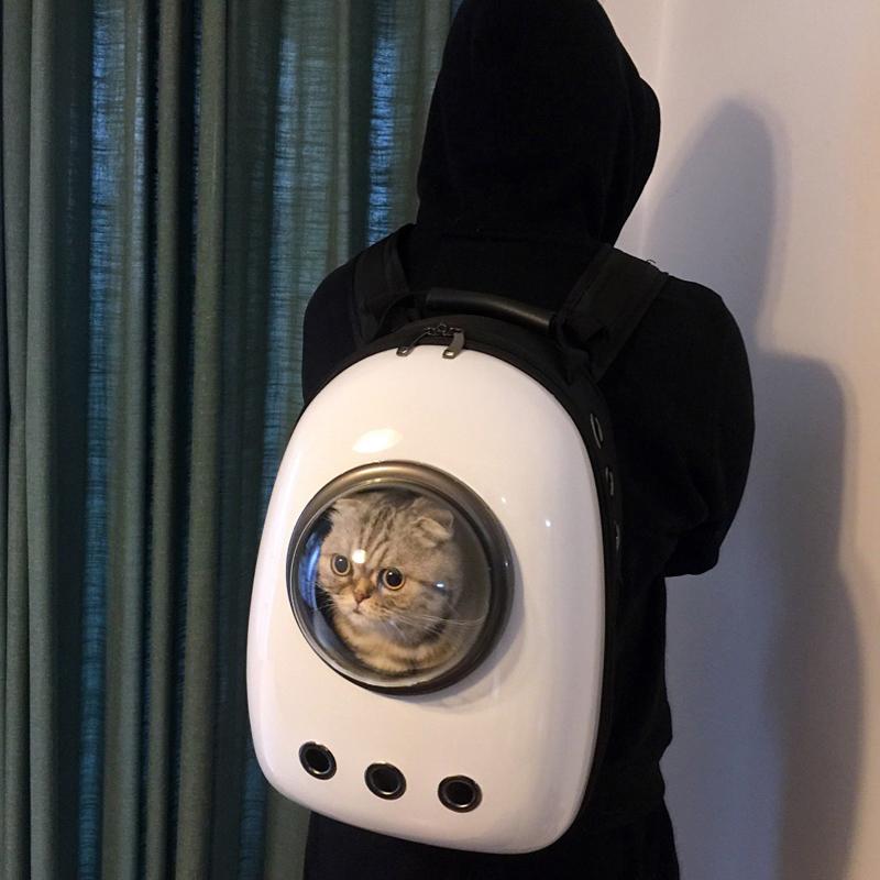 寵物包太空外出便攜艙狗狗包貓咪雙肩貓袋背包貓包狗背書包貓籠子