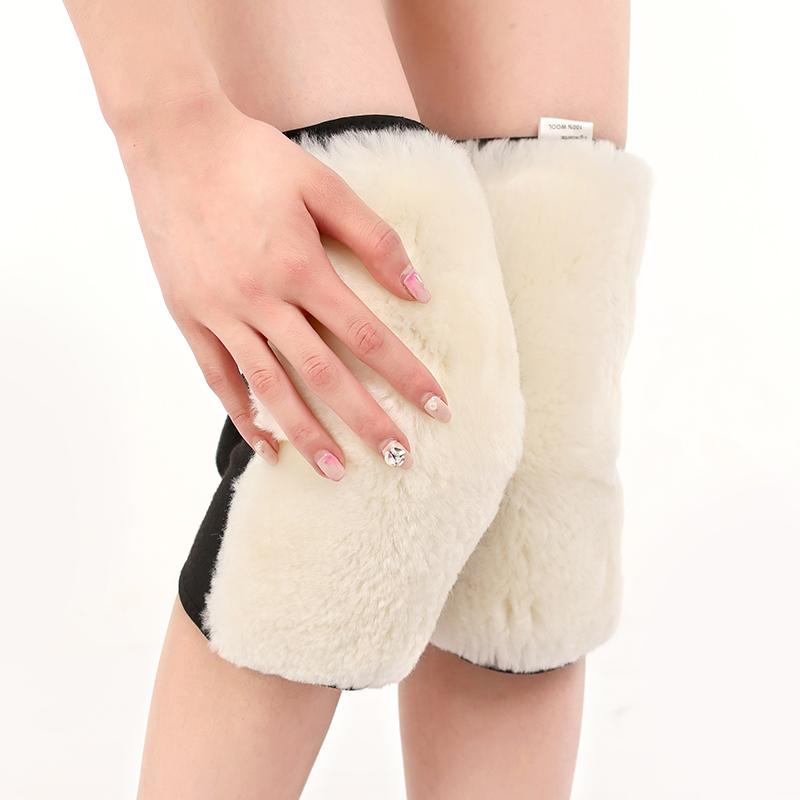 羊毛护膝保暖老寒腿男女士秋冬季老人加厚羊绒膝盖关节防寒骑车炎