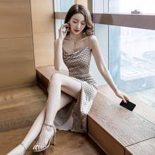 初秋新款2020网红甜美轻熟风高冷系女装气场连衣裙女气质欧美成熟