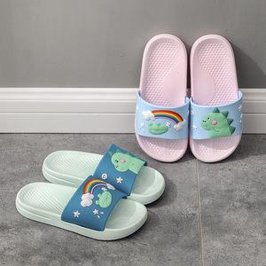 20新款夏季卡通男童恐龙儿童拖鞋