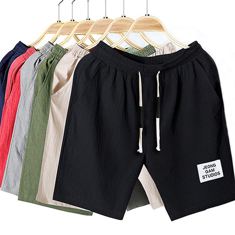 短裤男士夏季宽松休闲五分中裤子运动七分裤5分沙滩裤潮流大裤衩