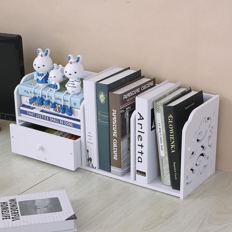创意桌上小型客厅卧室寝室的小书架22.12元包邮