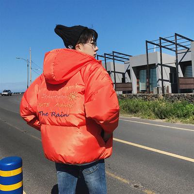 冬季外套棉袄加绒加厚面包服男棉衣韩版潮流连帽短款 M52-P125