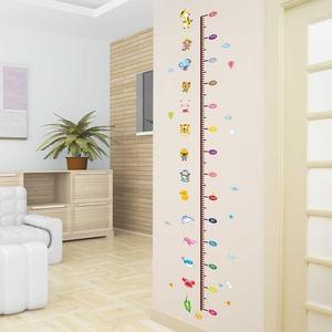 测身高尺身高表量身高墙贴纸视力表家用挂图标准儿童成人