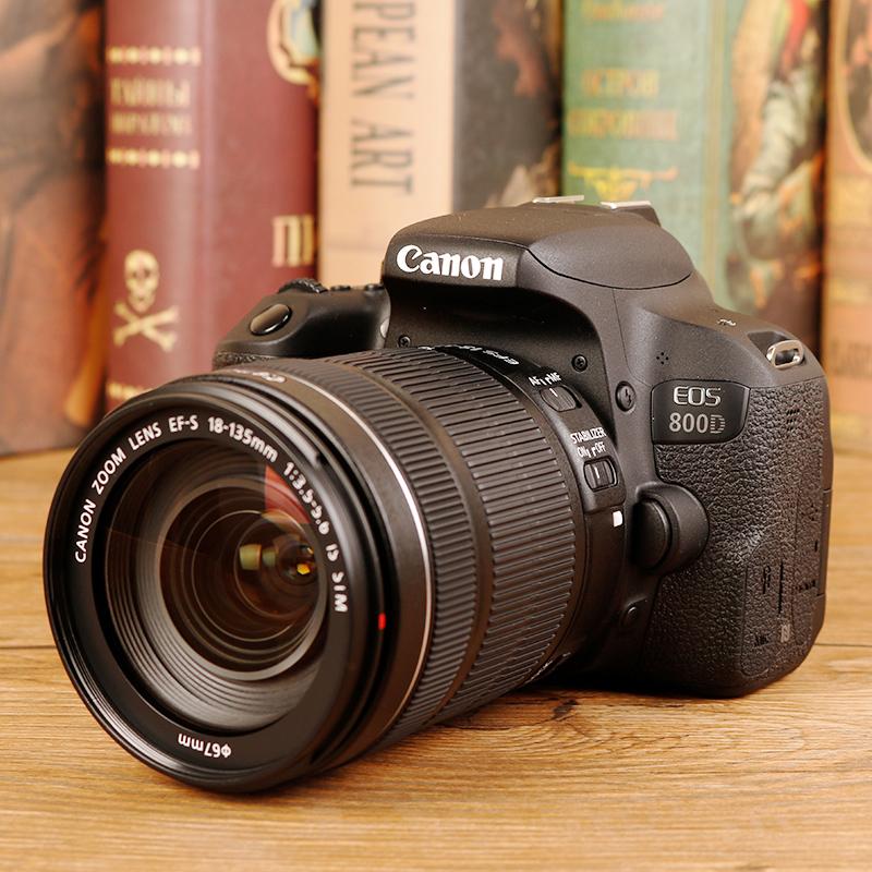 国行联保 Canon/佳能 EOS 800D 18-135stm入门级单反相机数码高清