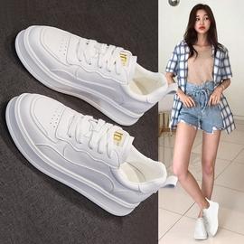 休闲小白鞋子女2020新款网红爆款基础百搭加绒厚底增高运动板鞋潮图片