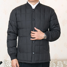 Middle aged and old people cotton padded men's inner bladder winter coat fattening and enlarging cotton padded jacket granddad's cotton padded jacket for father aged 60-70