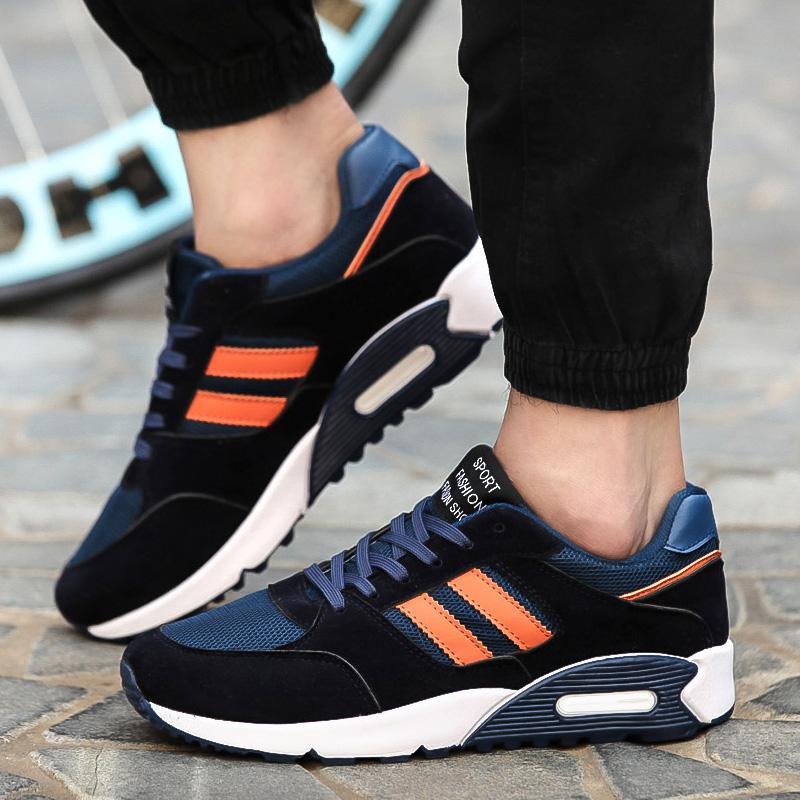 內增高加絨保暖跑步鞋