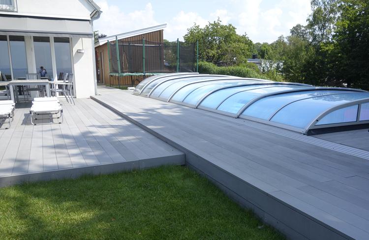塑木户外长条地板露台花园公园庭院别墅广场木塑空心实心防腐木