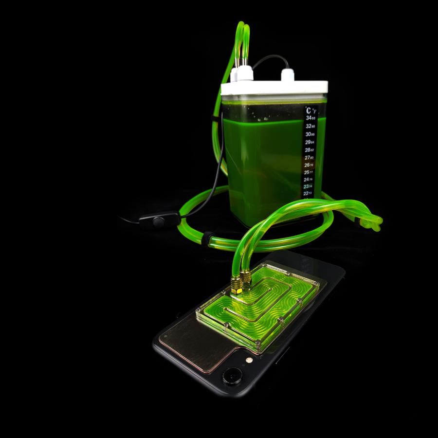 手机液冷水冷壳7p11x小米散热器