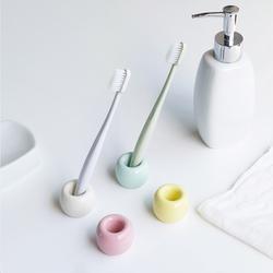 日本日式陶瓷旅行牙刷座简约放牙刷架子创意个性情侣牙具盒